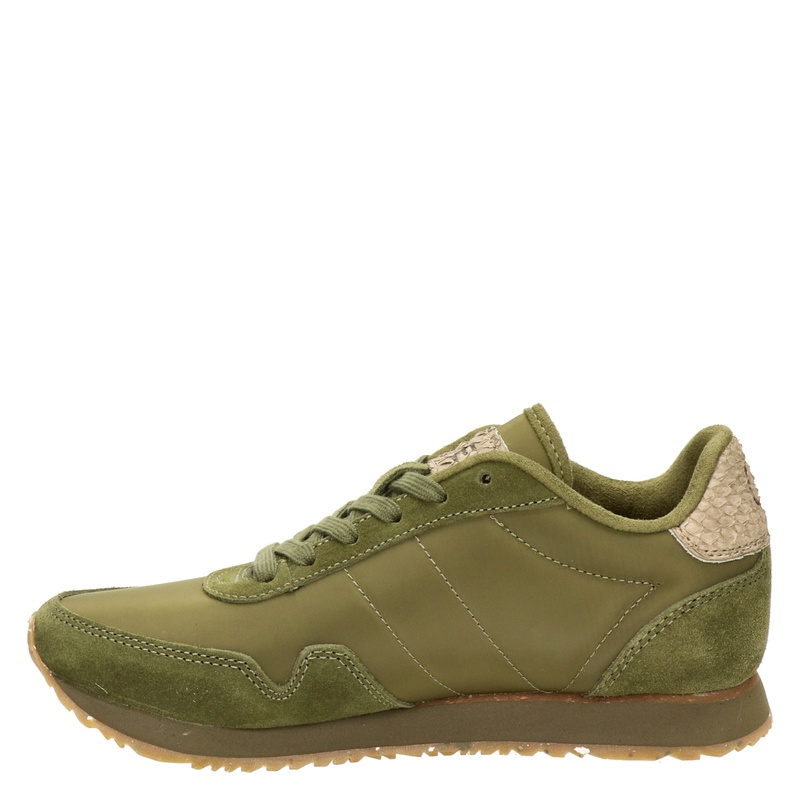 Woden Nora - Lage sneakers - Groen