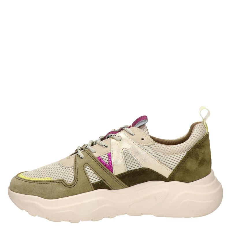 PS Poelman Year - Dad Sneakers - Groen