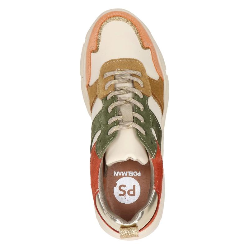 PS Poelman - Dad Sneakers - Bruin