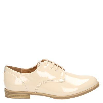 Hobb's dames veterschoenen beige
