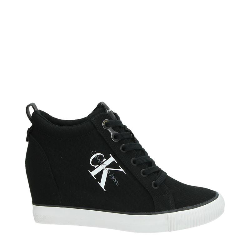 Calvin Klein Ritzy - Hoge sneakers - Zwart