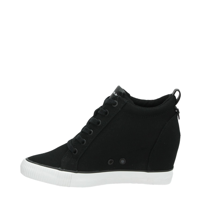 Calvin Klein Ritzy Hautes Chaussures De Sport Bleu YOnKbbw3a