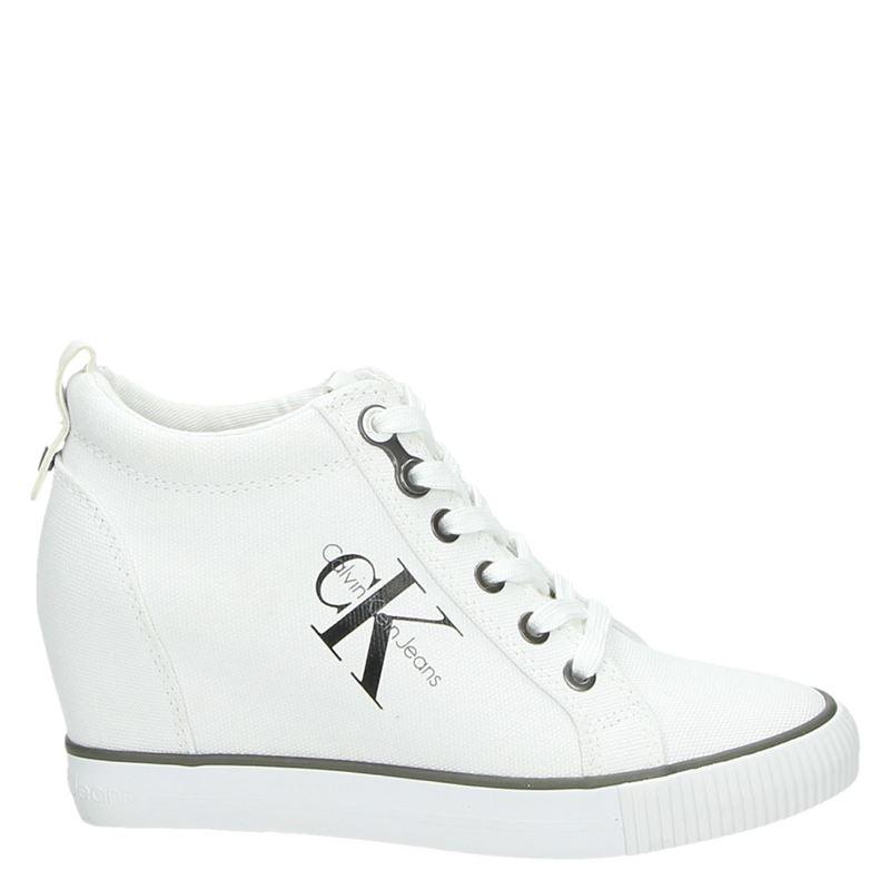 Calvin Klein Ritzy - Hoge sneakers - Wit