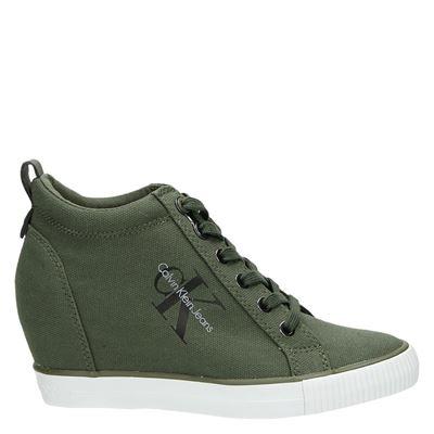 Calvin Klein dames sneakers groen