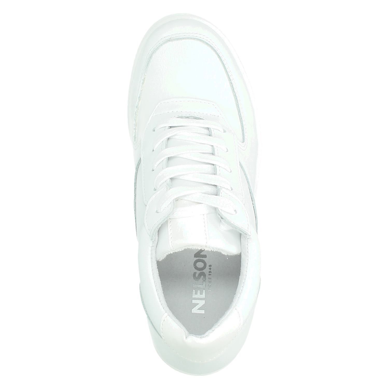 Wit Yassie Platform Dames Sneakers Nelson Klein 0Pnwk8OX