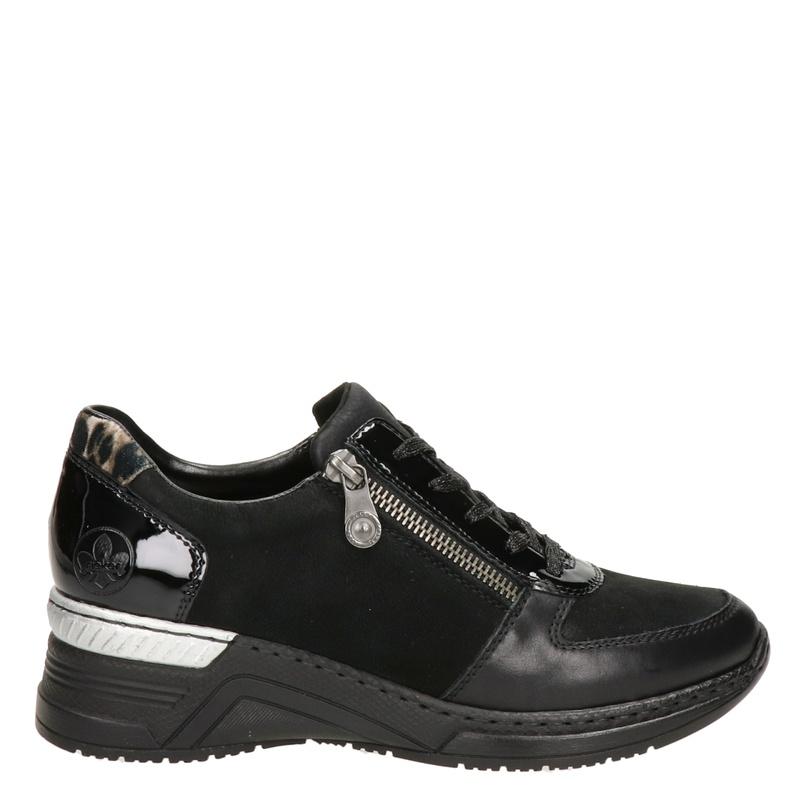 Rieker - Lage sneakers - Zwart