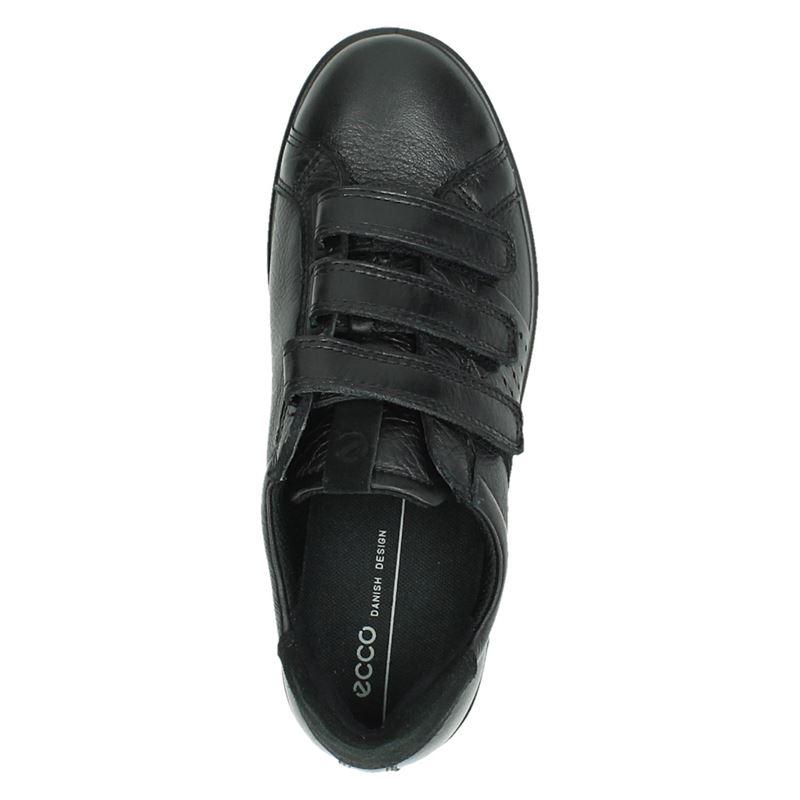 Ecco Soft 1 - Klittenbandschoenen - Zwart