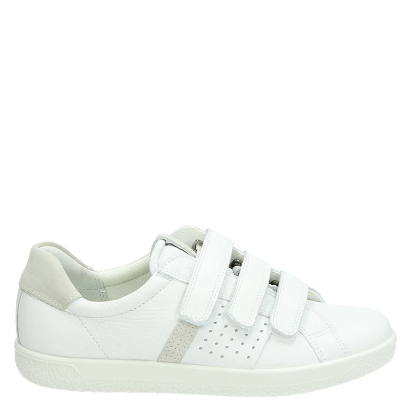 Ecco Soft 1 - Klittenbandschoenen - Wit