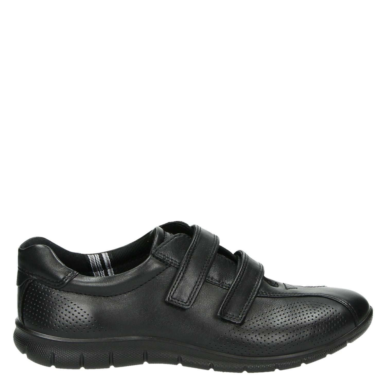 Chaussures Ecco Noir Avec L'entrée Pour Les Femmes cOdSiC722
