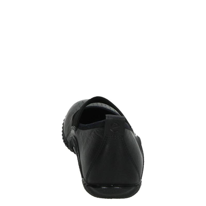 Ecco Vibration 1.0 - Instapschoenen - Zwart