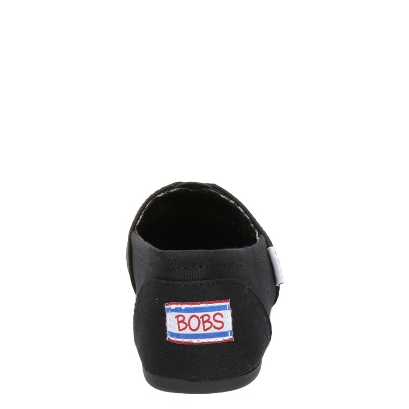 Bobs Plush - Instapschoenen - Zwart