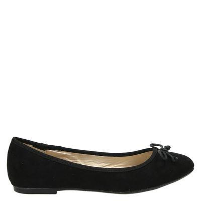 Hobb's dames ballerinas zwart