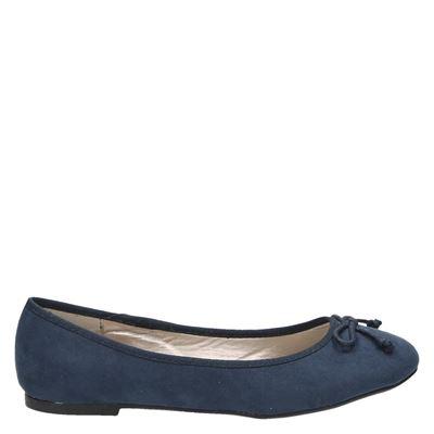 Hobb's dames ballerinas blauw