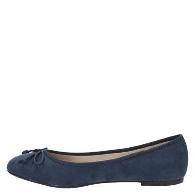 Hobbs dames ballerinas Blauw
