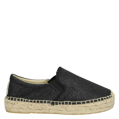 Replay dames espadrilles zwart