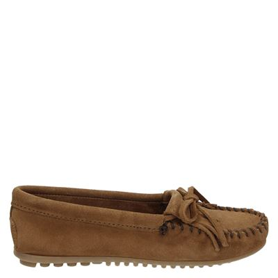 Minnetonka dames moccasins & loafers cognac