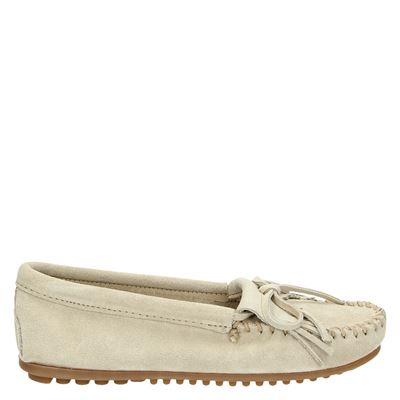 Minnetonka dames mocassins & loafers beige