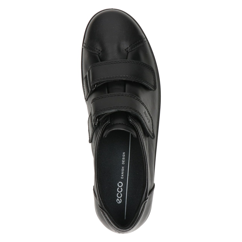 Ecco Soft 2.0 - Klittenbandschoenen - Zwart