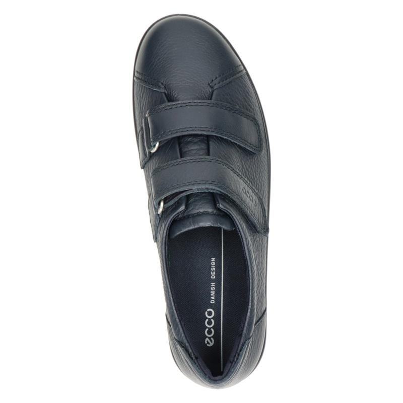 Ecco Soft 2.0 - Klittenbandschoenen - Blauw