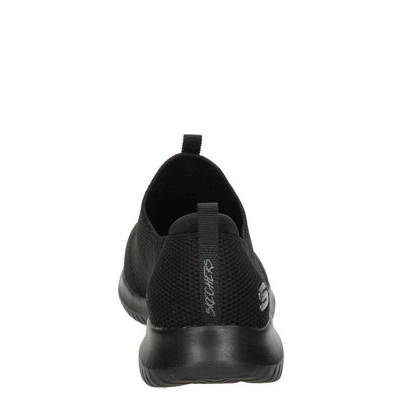 Skechers Stretch Knit - Instapschoenen - Zwart