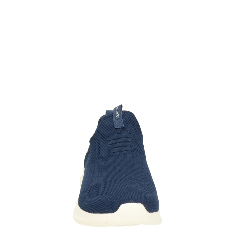 Skechers Stretch Knit - Instapschoenen - Blauw