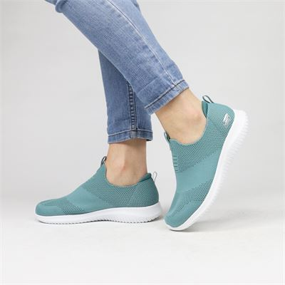 Skechers dames sneakers groen