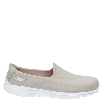 Skechers dames sneakers beige