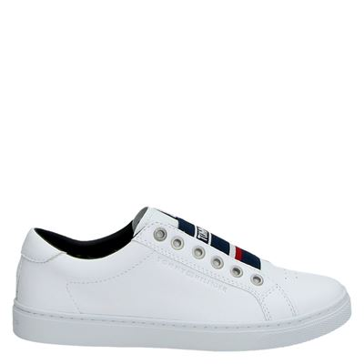 Tommy Hilfiger Sport dames lage sneakers wit