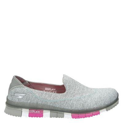Skechers dames instapschoenen grijs