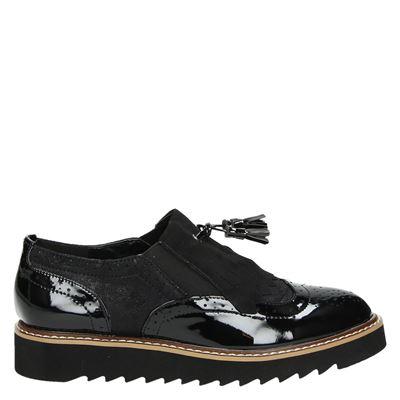 La Strada dames sneakers zwart