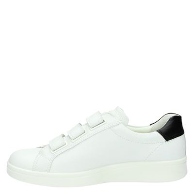 Ecco Soft 4dames lage sneakers Wit