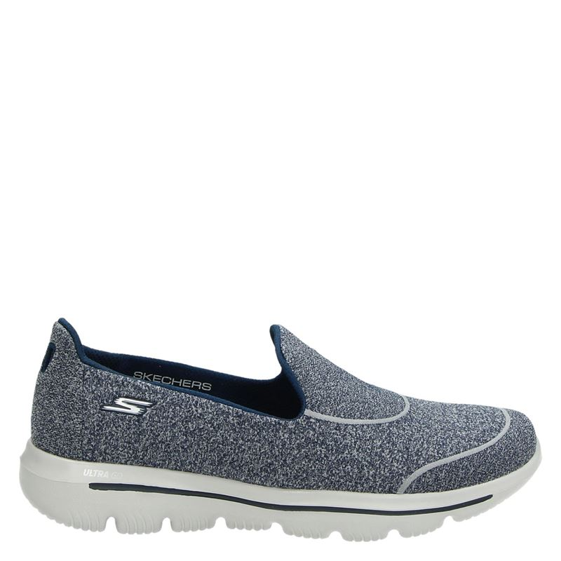 Skechers Go Walk Evolution Ultra - Instapschoenen - Blauw