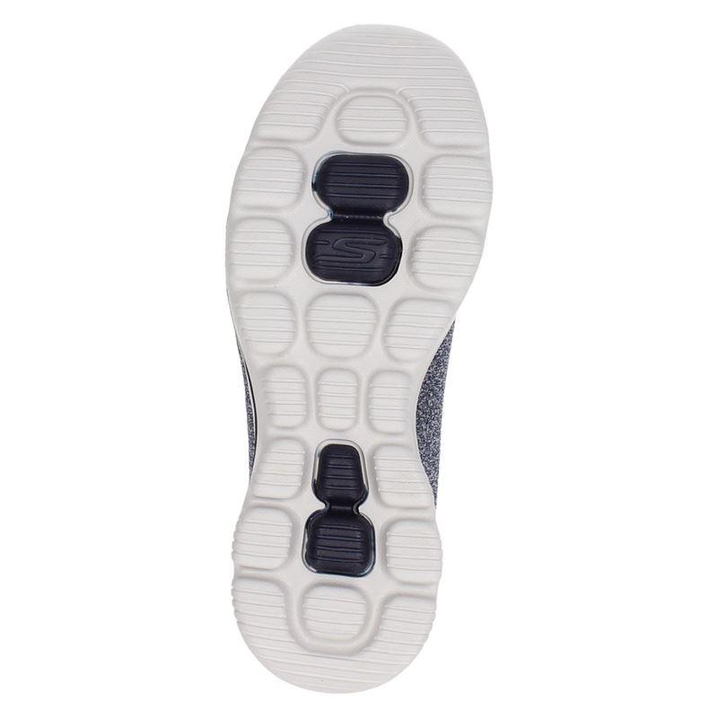 Skechers Go Walk Evolution Ultra - Instapschoenen - Blauw
