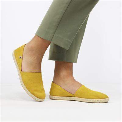 Verbenas dames instapschoenen geel