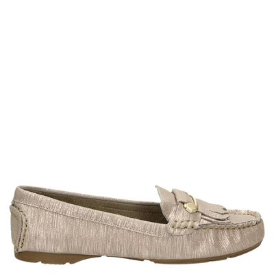 Tamaris dames mocassins & loafers Taupe