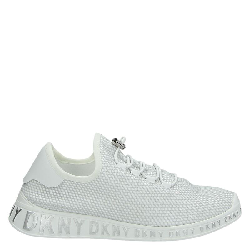 DKNY Mel Lace Up - Lage sneakers - Wit