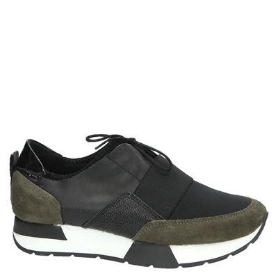 PS Poelman dames lage sneakers Groen