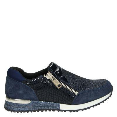 PS Poelman dames sneakers blauw