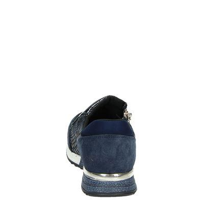 PS Poelman dames lage sneakers Blauw