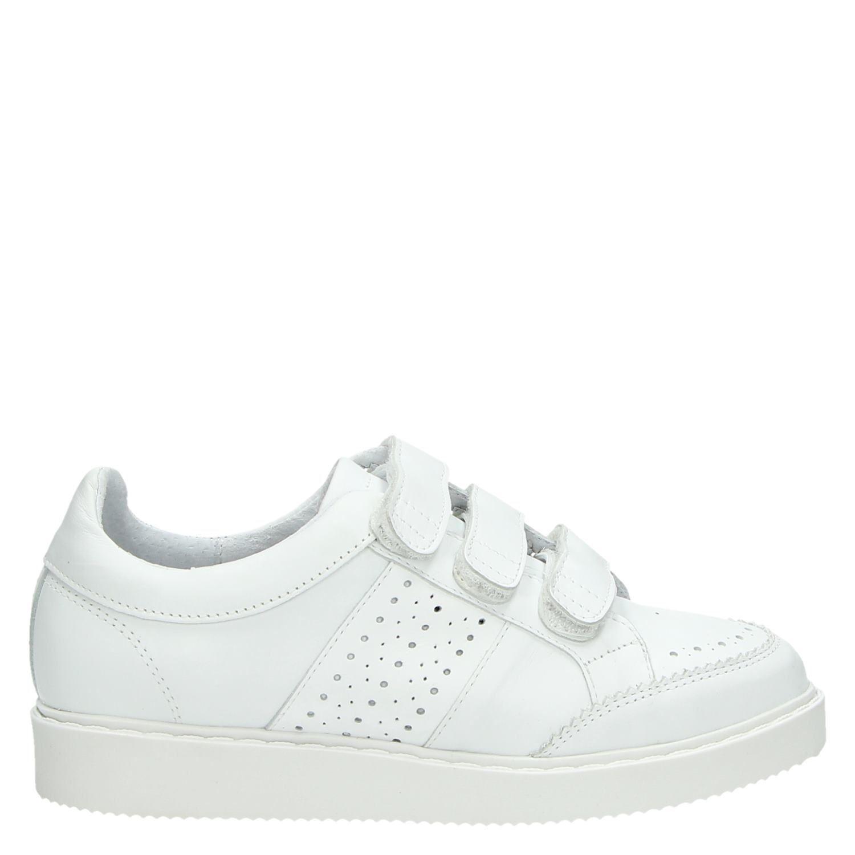 Chaussures Converse Blanc Avec Fermeture Velcro Pour Les Femmes veK2oQ7