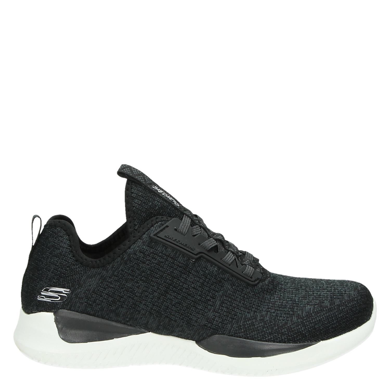 Skechers lage sneakers zwart