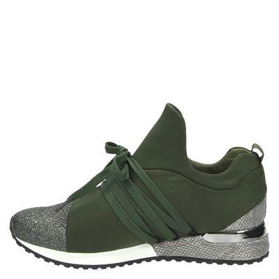 La Strada dames lage sneakers Groen