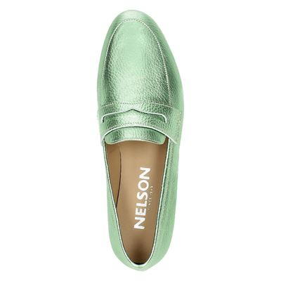 Nelson dames mocassins & loafers Groen