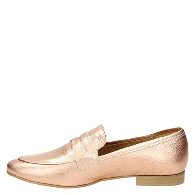Nelson dames mocassins & loafers Rose goud