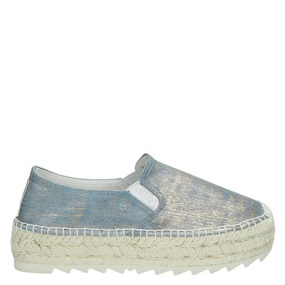 Replay dames espadrilles goud