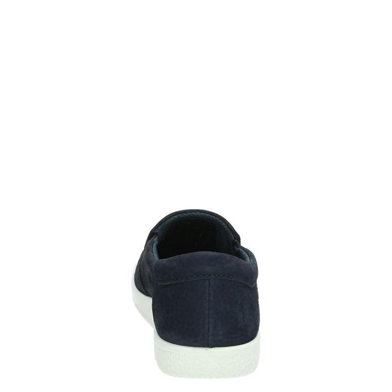 Ecco Soft 1 - Instapschoenen - Blauw