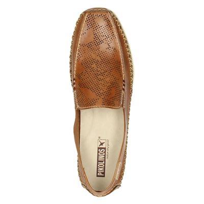 Pikolinos dames mocassins & loafers Cognac