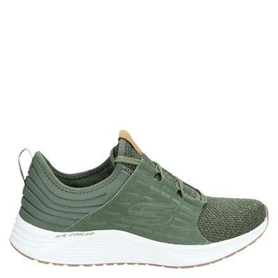 Skechers dames sneakers groen