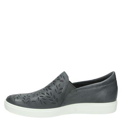 Ecco Soft 7dames mocassins & loafers Grijs