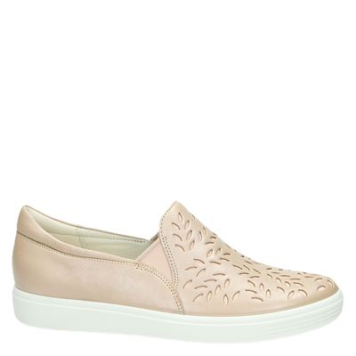 Ecco Soft 7dames mocassins & loafers Roze